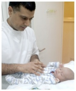 Baby Cranial Osteopathy