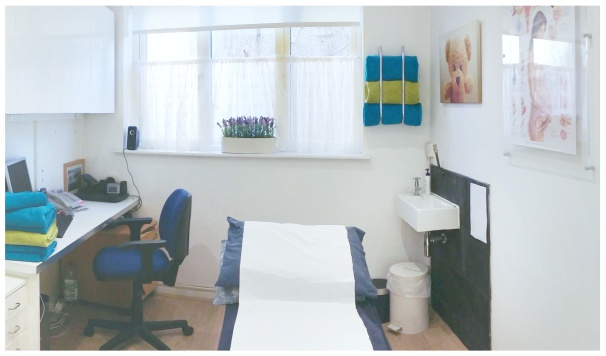 Back pain treatment room