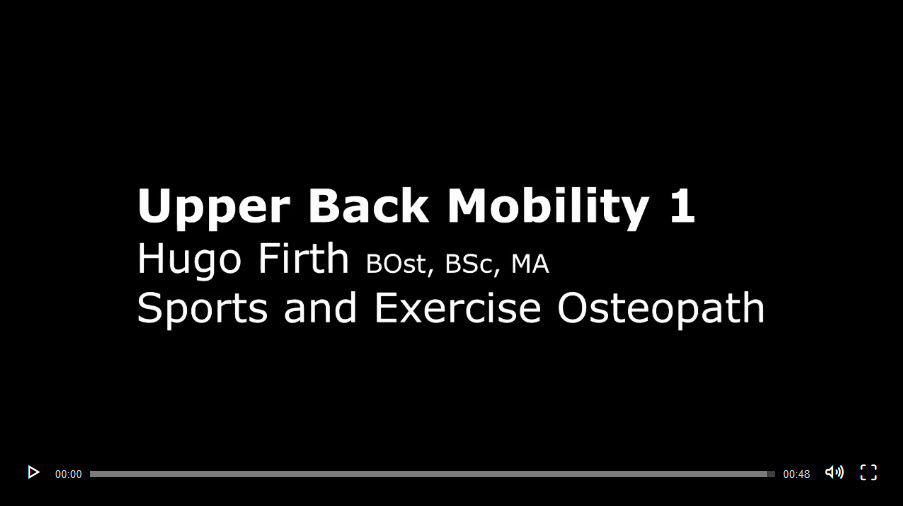 Upper Back Mobility Exercise