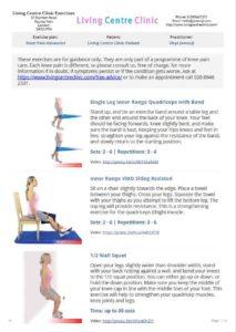 Exercises to make the knee stronger- advanced set